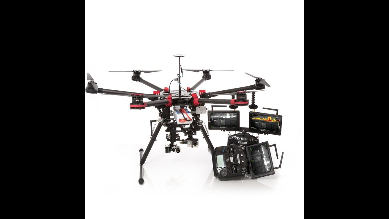 Thermal Imaging Drone - DJI S900 Search and Rescue SAR Drone - YouTube