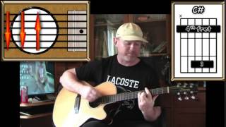 What Becomes Of The Broken Hearted - Jimmy Ruffin - Acoustic Guitar Lesson