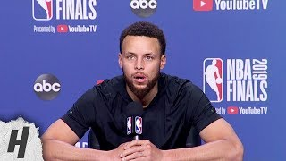 Stephen Curry Full Interview - Game 5 Preview | 2019 NBA Finals Media Availability