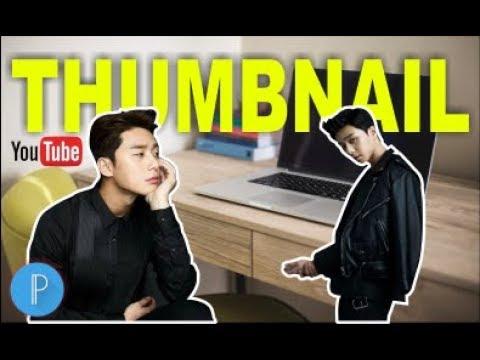Cara Membuat GAMBAR THUMBNAIL Youtube Di HP ANDROID | PixelLab