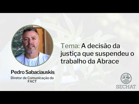 """""""A decisão da justiça que suspendeu o trabalho da Abrace"""" - Com Pedro Sabaciauskis"""