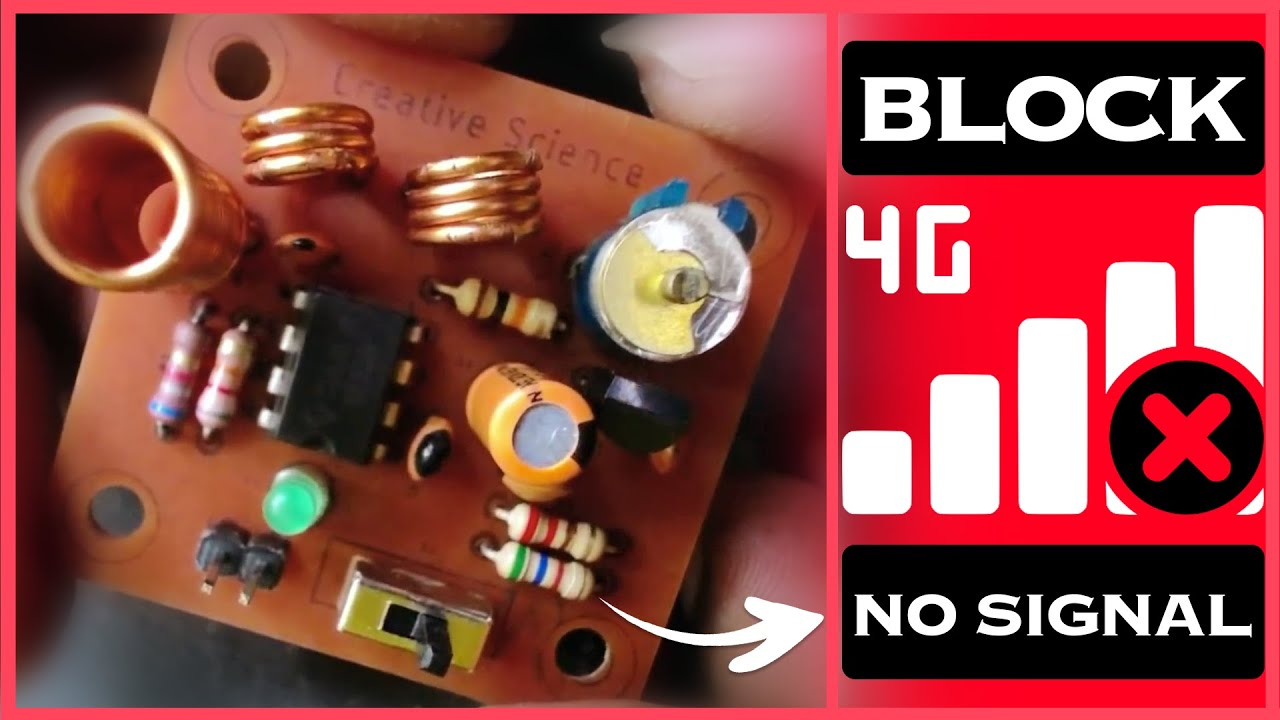 hight resolution of make your own cell phone signal jammer using ne555 timer