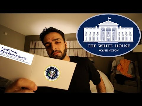 REJECTED AN INVITATION TO THE WHITE HOUSE!