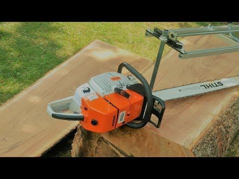Stihl Ms 880 And Granberg Chainsaw Milling Oak Log