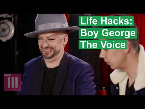 Life Hacks with The Voice Coaches: Boy George