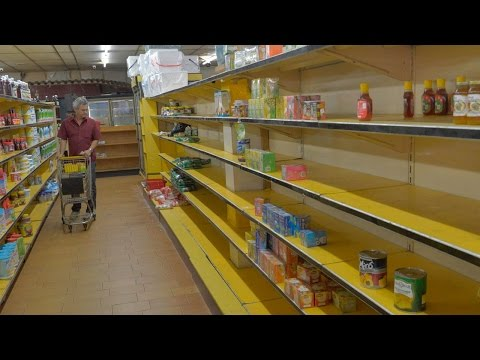 Economic Crisis Forces Country To Starve