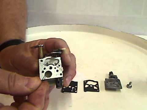 entretien carburateur walbro etape 6 - youtube