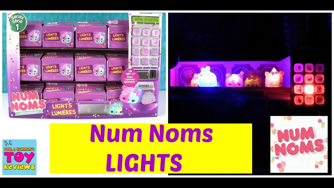Num Noms Lights Series 1 Light Up Glow In The Dark Party