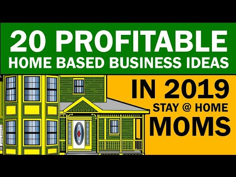 20 Home Based Business Ideas for Stay at Home Moms 2019. http://bit.ly/2Q6cQQf