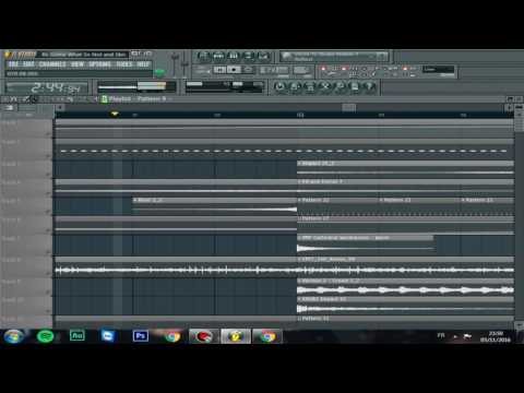 FL STUDIO RL Grime What So Not and Skrillex - Waiting (remake)