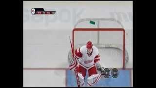 NHL 10 PS3 Glitch goal compilation