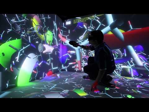 TechViz - Virtual Reality CAVE