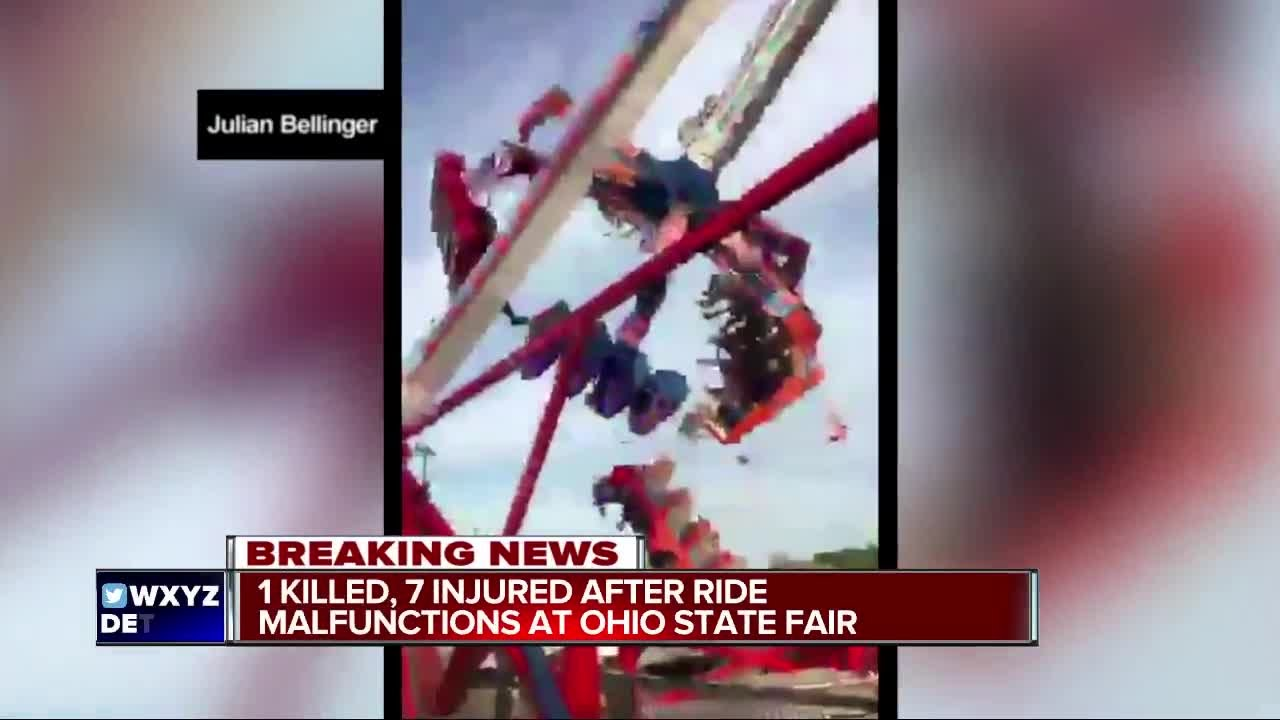 One killed in ride accident at Ohio State Fair