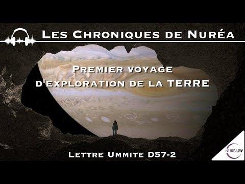 Premier Voyage d'Exploration de la Terre - Lettre Ummite D57-2