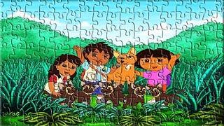 Dora Puzzle Games For Kids Fun Games for Children Juegos De Puzzle Para Niños