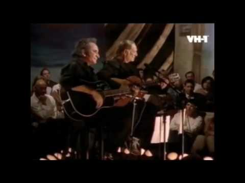 Johnny Cash and Willie Nelson Funny How Time Slips Away