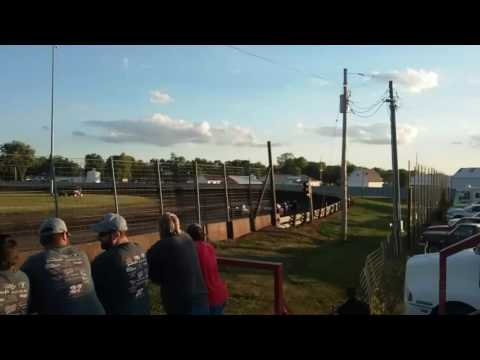 Lee County Speedway - Heat Race  - 6-23-17