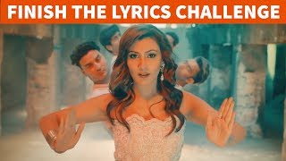 TRY TO FINISH THE LYRICS CHALLENGE!! BOLLYWOOD SONGS CHALLENGE