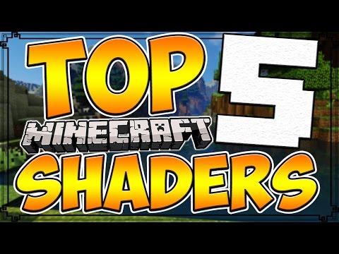 Top 5 Minecraft Shader Packs | Minecraft 1.10 Best Shader Packs [2016]