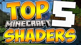 Top 5 Minecraft Shader Packs | Minecraft 1.10 Best Shader Packs [2016]
