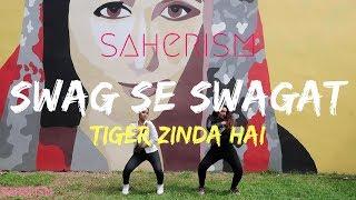 Swag Se Swagat | Dance Choreography | Tiger Zinda Hai | saherism