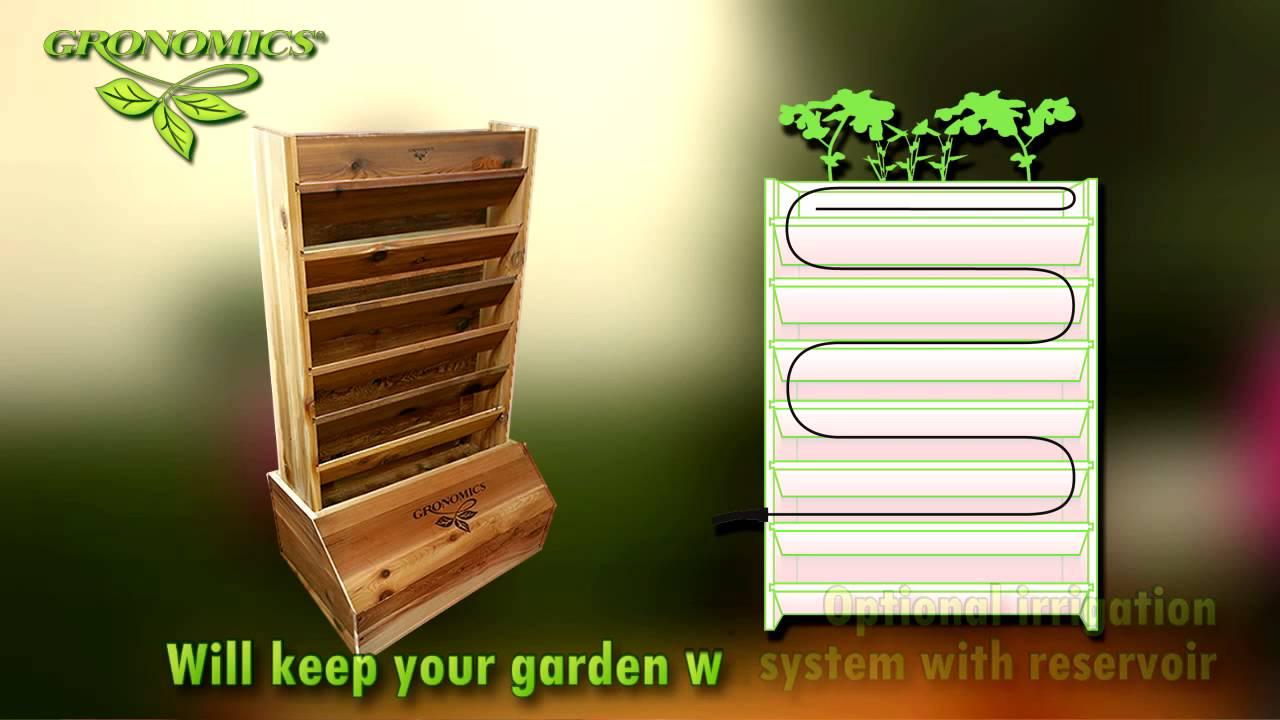 Gronomics Vertical Garden Garden Ftempo