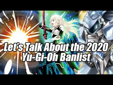 Yugioh Ban List 2020.Let S Talk About The 2020 Yu Gi Oh Banlist