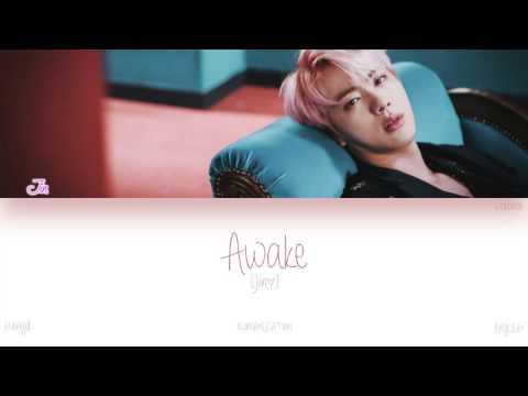 [HAN ROM ENG] BTS (Jin) - Awake (Color Coded Lyrics)