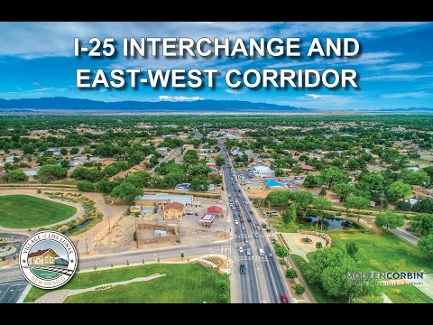 Los Lunas I-25 Interchange East-West Corridor