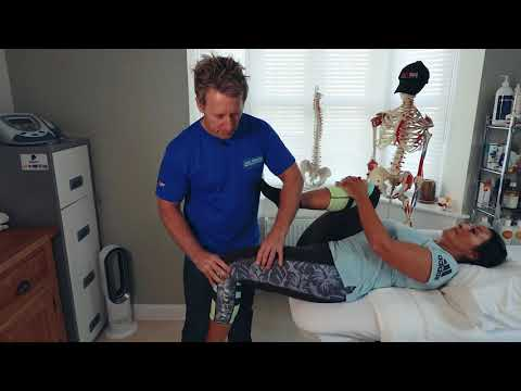 THE PSOAS Muscle Simple test for tight HIP FLEXORS