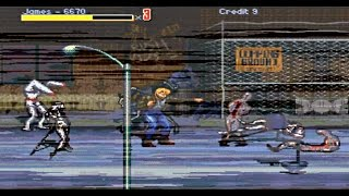 Streets of Rage: Silent Hill Version (PC Gameplay) HD