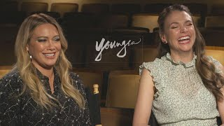 'Younger': Hilary Duff and Sutton Foster on the Bingeworthy Show
