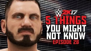 WWE 2K17 - 5 Things You Might Not Know! #28 (Middle Rope Specials, Superstar Audio & More)