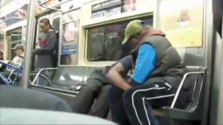 Epic Drunk Subway Fight    Low