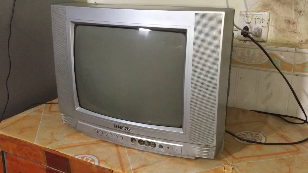 Konka Tv Review Old Tv Youtube