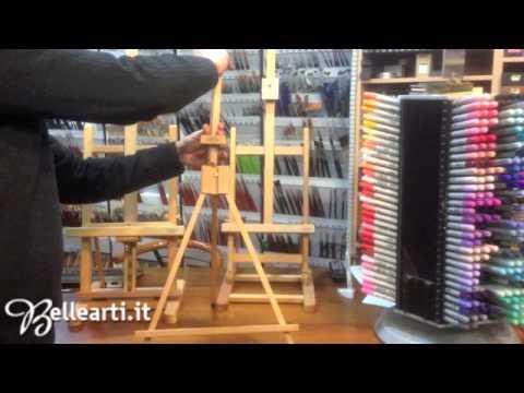 Tutorial cavalletti per pittura da tavolo youtube - Cavalletti per tavolo ...