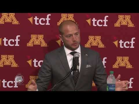 Press Conference: P.J. Fleck Previews Illinois