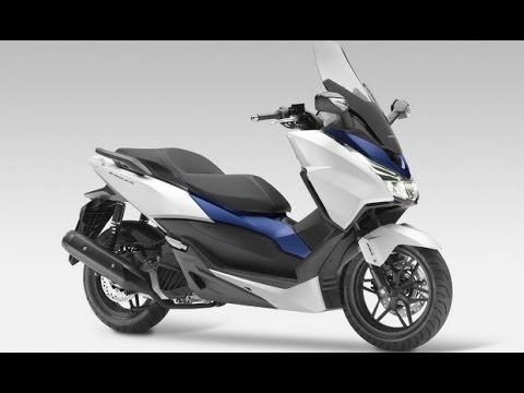 honda scooter forza 125 abs 2015 alien motors youtube. Black Bedroom Furniture Sets. Home Design Ideas