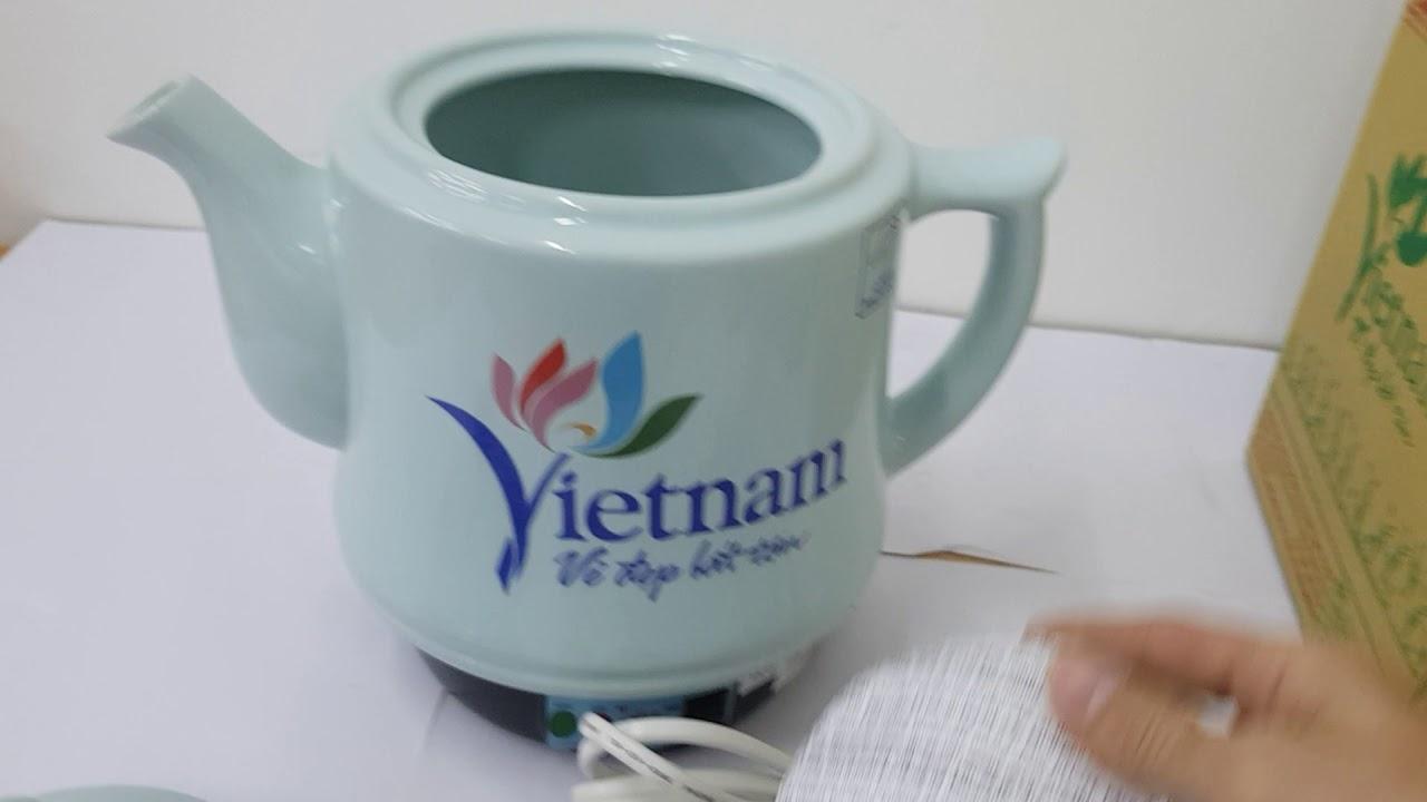 Giới thiệu sản phẩm ấm sắc thuốc trường an TA68 xanh ngọc