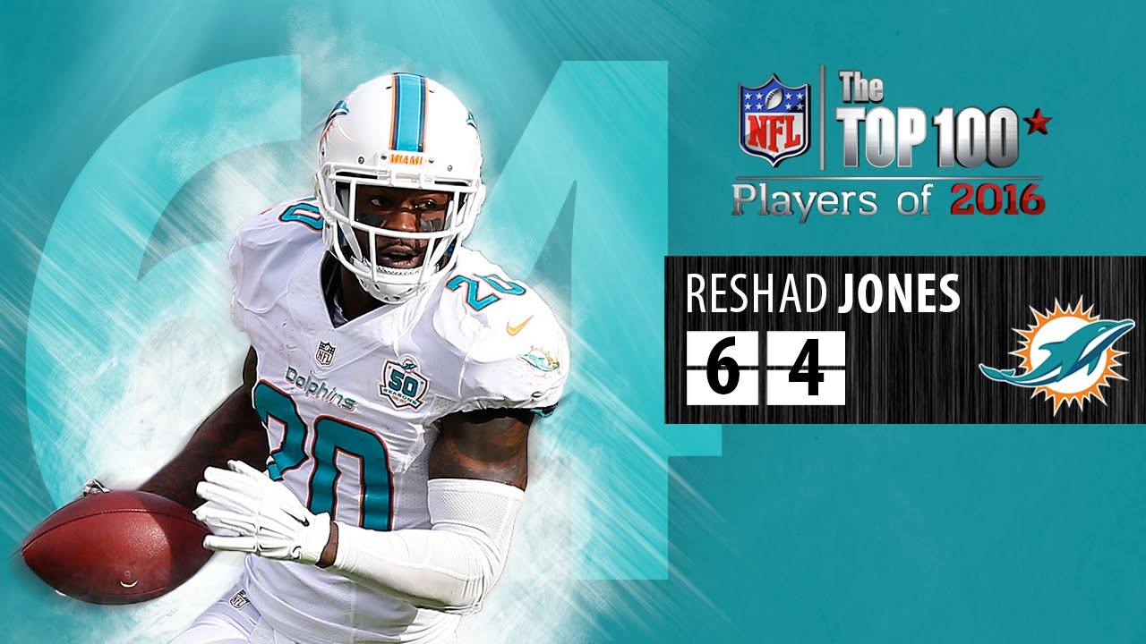 64 Reshad Jones S Dolphins
