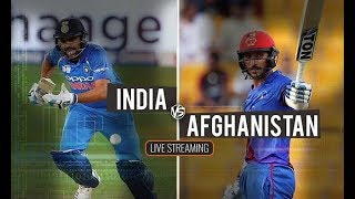 Live Asia Cup 2018    India vs Afghanistan Live Match Today    Live Cricket Streaming