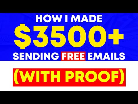 How I Made $3500+ By Sending FREE Emails With Affiliate Marketing!