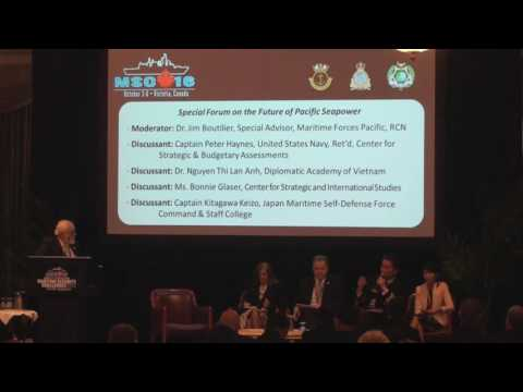 MSC16 Special Forum on the Future of Pacific Seapower - PART 2 of 2