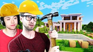 ARCHITECTS BUILD HOUSES IN MINECRAFT? (The Pals Minecraft Build Off)