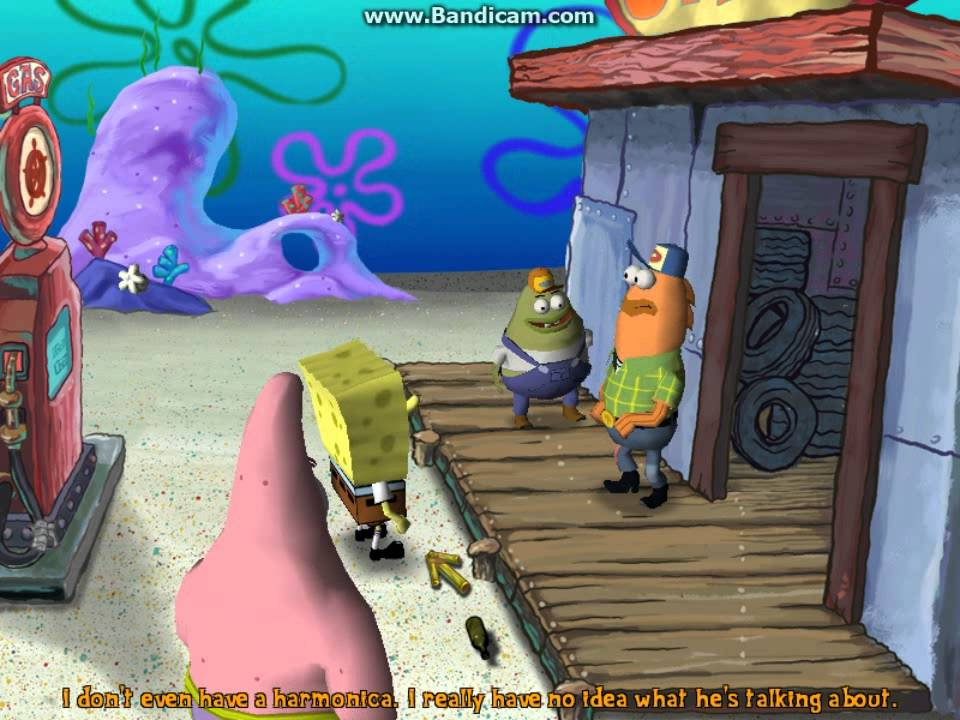 spongebob squarepants the movie pc game part 4 youtube