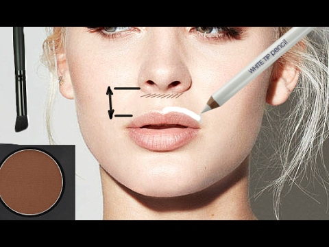Face Contouring: Cupid's Bow Area