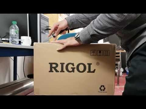 70MHz Rigol DS1074Z plus 4-channel Scope (DSO) MSO ready Unboxing first look