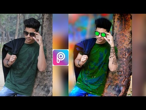 Awesome Cb Editing Tutorial || Boy Stand Behind Tree || Picsart Editing Tutorial