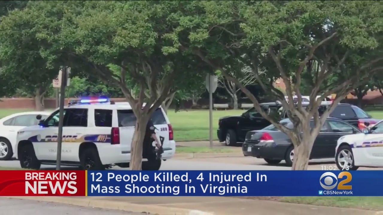 12 Killed In Virginia Beach Shooting
