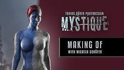 MYSTIQUE with Micaela Schäfer - Photoshop Tutorial by TOBIAS DÖRER